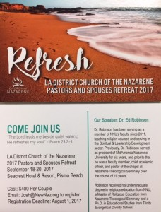 Refresh Retreat Info