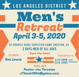 Men's Retreat 2020