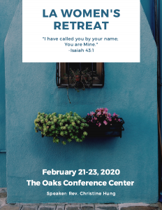Women's Retreat Flyer cover